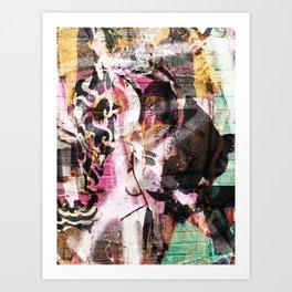 Bowery and Rivington Art Print