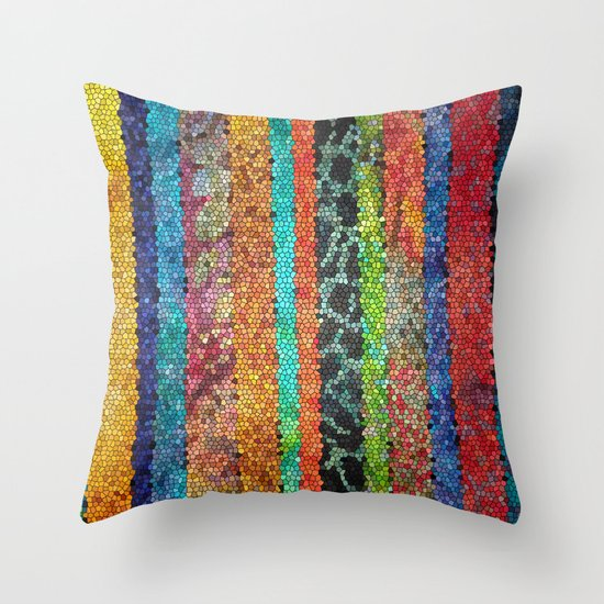 The Jewels of the Nile Throw Pillow