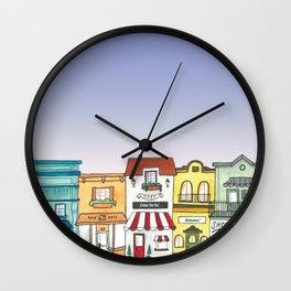 Shops Wall Clock