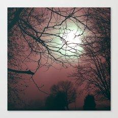 Day Moon Canvas Print
