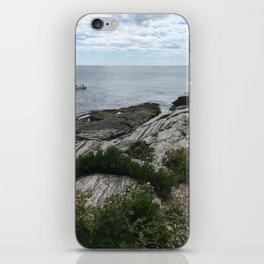 Water in Portland Maine iPhone Skin