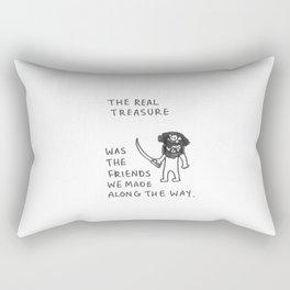 The Real Treasure Rectangular Pillow