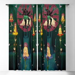 12 Dimensional Mystifications Blackout Curtain