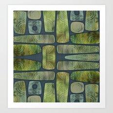 Greenstone Art Print
