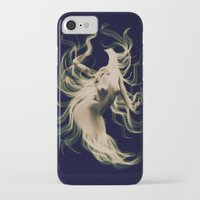 goddess iPhone & iPod Cases featuring Goddess  by    Amy Anderson