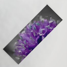 Global Gilia On Grey Yoga Mat