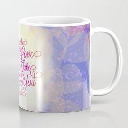 TYPOGRAPHY DESIGN Coffee Mug