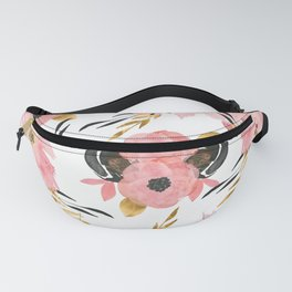 Night Meadow on White Fanny Pack