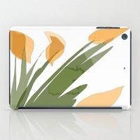 peach iPad Cases featuring Peach by Wonder Art