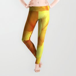 Daffodils In Spring Leggings
