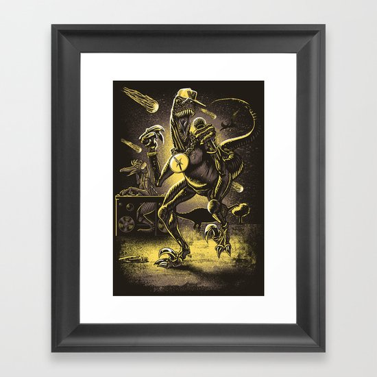 VelociRapper Framed Art Print