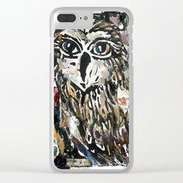 Snowbirds fo Nome Print Clear iPhone Case