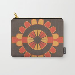 Stylized geometric flower Carry-All Pouch