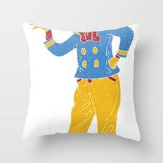 RonaldMcDonaldDuck Throw Pillow