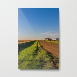 Walkin' on a Country Road 3 Metal Print