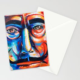Salvador Dalí Colorful Art Painting Stationery Cards