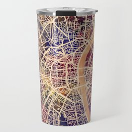 Cologne Germany City Map Travel Mug