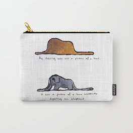 Monoprinting Le Petit Prince Carry-All Pouch
