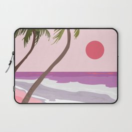 Tropical Landscape 01 Laptop Sleeve