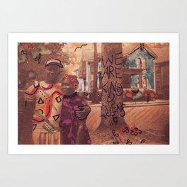 Kings & Queens Art Print