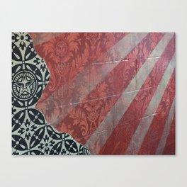 Concrete Sunbeams Canvas Print