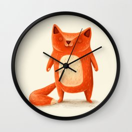 I am autumn (1) Wall Clock