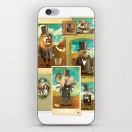 Circus-Circus: The Whole Gang iPhone Skin