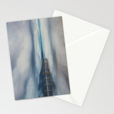 reflections in the water ...  Stationery Cards