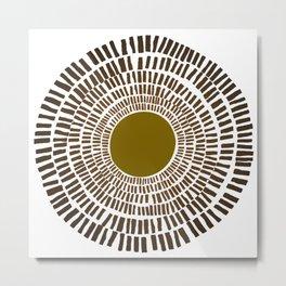 sun 33 Metal Print