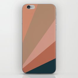 Earthy Diagonals iPhone Skin