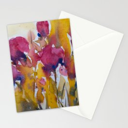 Abstract flowers (2) Stationery Cards