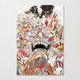 KN/PC: Infinite Jest Canvas Print
