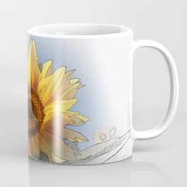 Greeting the rising sun Coffee Mug