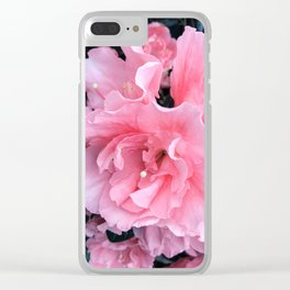 Pink Flower Photography Spring Easter Art Clear iPhone Case