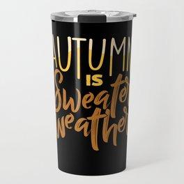 Autumn Fall Travel Mug
