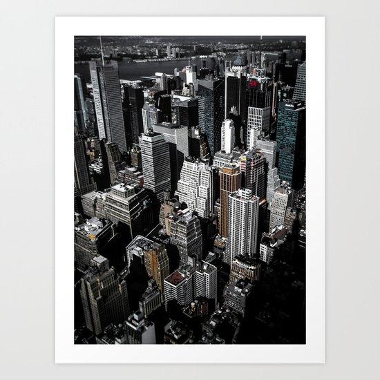 Boxes of Manhattan Art Print