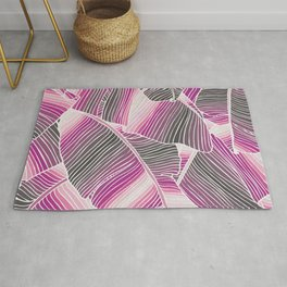 Gradient Leaves Rug
