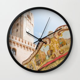 Venice in Trevise Wall Clock