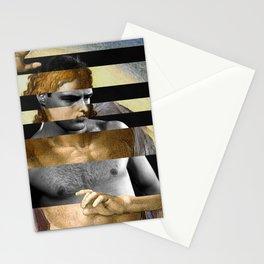 Michelangelo's Christ & Marlon Brando Stationery Cards