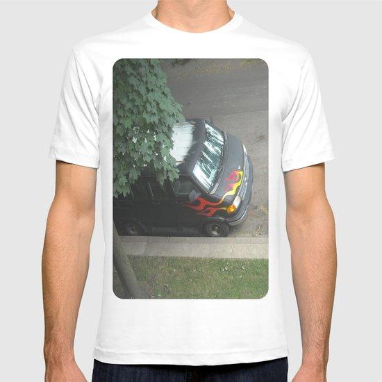 Smokin'! ~ 70s-ish van T-shirt
