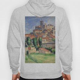 Paul Cézanne, Gardanne. Landscape art. Hoody