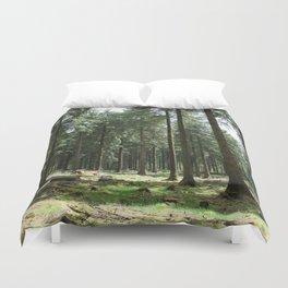 Dartmoor woods Duvet Cover