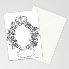 Celtic Belt With Rose and Thistle Drawing Stationery Cards