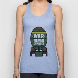 War Never Changes (Nuke) Unisex Tank Top