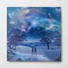 Starseed's Return Metal Print
