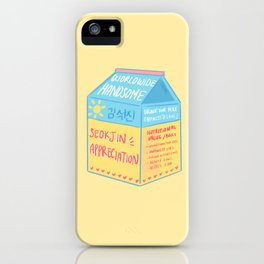 Seokjin Appreciation iPhone Case