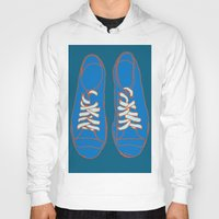 sneakers Hoodies featuring Sneakers by Sam Ayres