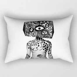 Kusama Yayoi Rectangular Pillow