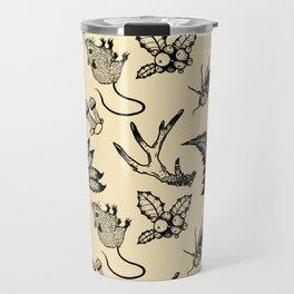 Forest Lurker Pattern Travel Mug