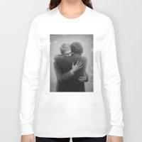 johnlock Long Sleeve T-shirts featuring John and Sherlock by br0-harry